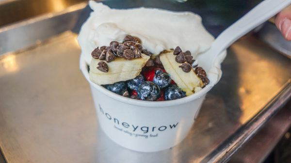Honeybar at Honeygrow