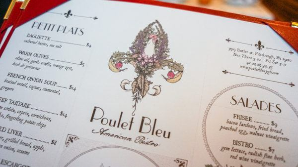 Le Poulet Bleu Pittsburgh