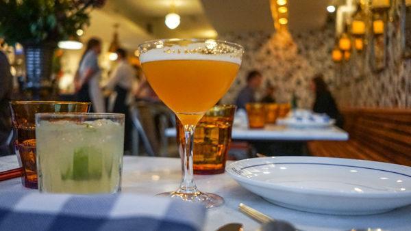 Cocktails at Poulet Bleu