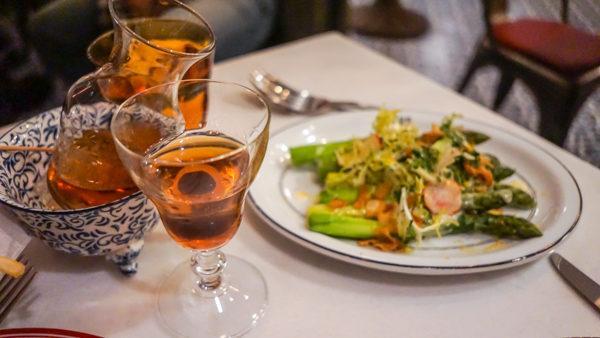 Asparagus at Poulet Bleu in Lawrenceville