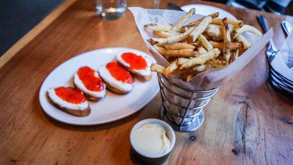 Tallow Fries at Legume