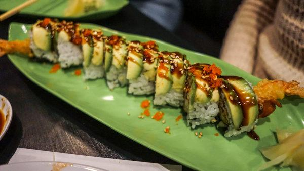 Sushi at The Warren