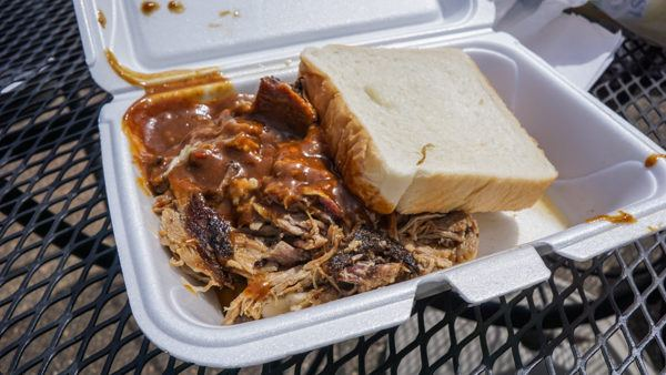 Pulled Pork at Showcase BBQ Pittsburgh