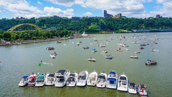 The Three Rivers Regatta in Pittsburgh
