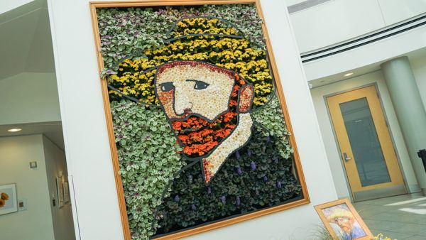 Van Gogh in Bloom at Phipps
