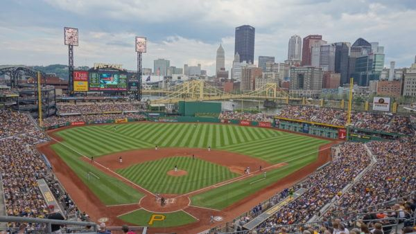Great View of Pittsburgh from the Pirates Stadium