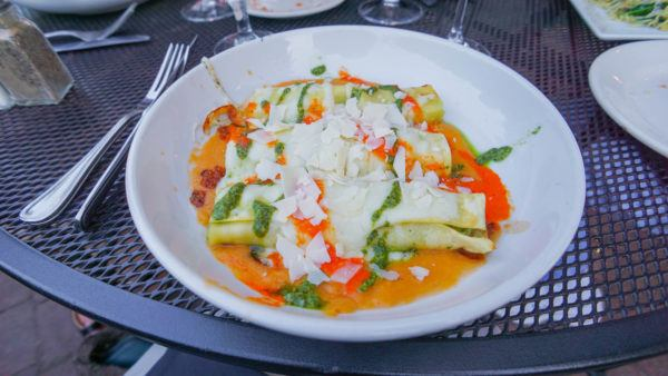 Seafood Cannelloni at Casa Narcisi