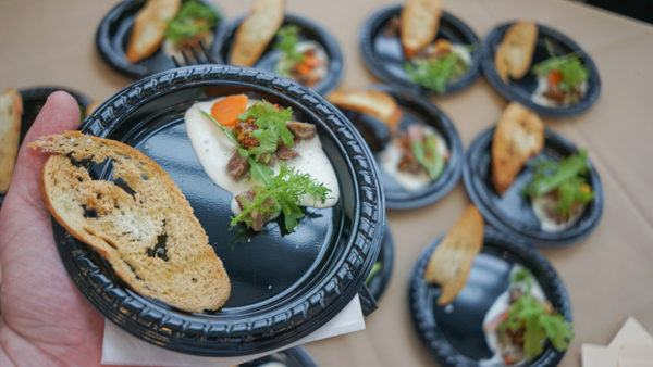 Small Plates at Pittsburgh Magazine Party