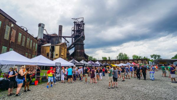Beers of the Burgh at Carrie Furnace