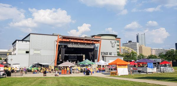 Stage AE for Beerfest Pittsburgh Summer