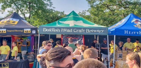 The Line for Dogfish Head