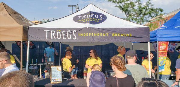 Troegs at Pittsburgh Beerfest Summer
