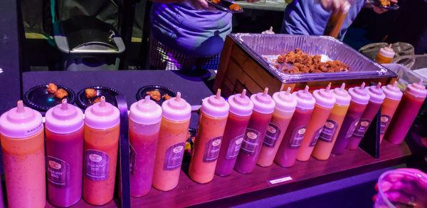 Bigham Tavern's Sauce Spread at Best of the Burgh