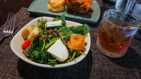 Panzanella Salad at Willow