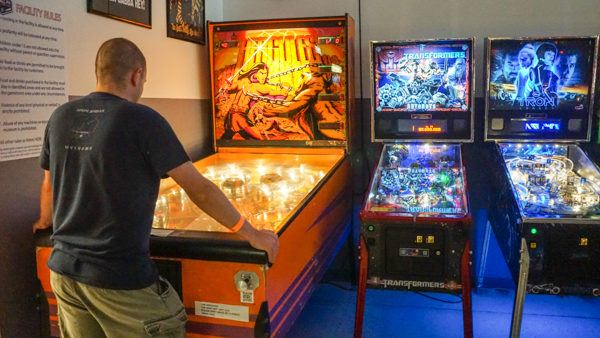 Monster pinball at Pinball PA