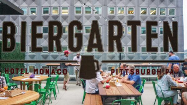 Biergarten at the Hotel Monaco Pittsburgh