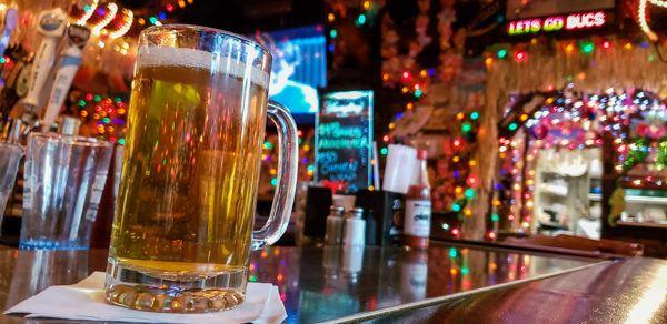 Beer at Bob's Garage