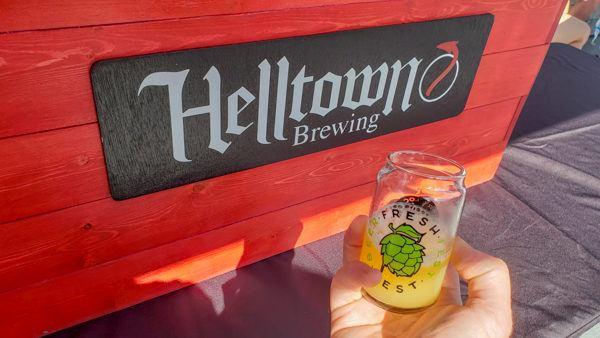Helltown Collaboration at Fresh Fest