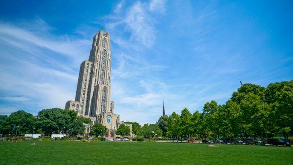 Cathedral of Learning in Oakland