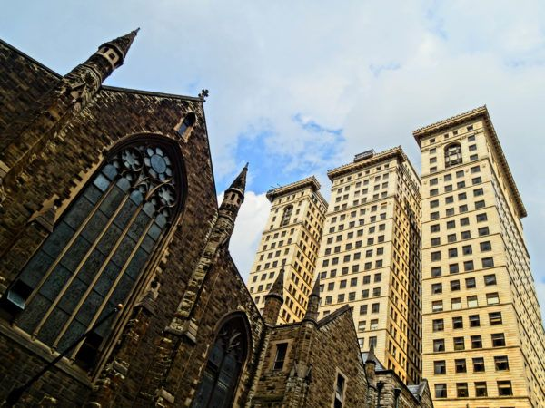 Embassy Suites Downtown and Historic Churches