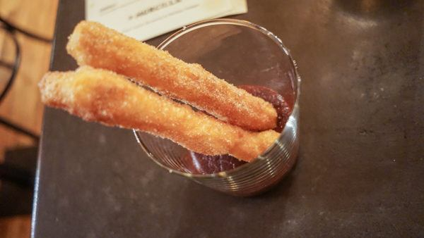 Churros from Justin Severino's Hog Butchering Demo at Morcilla