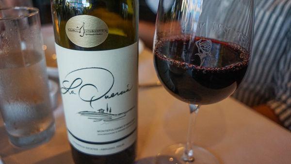 Wine at Alla Famiglia