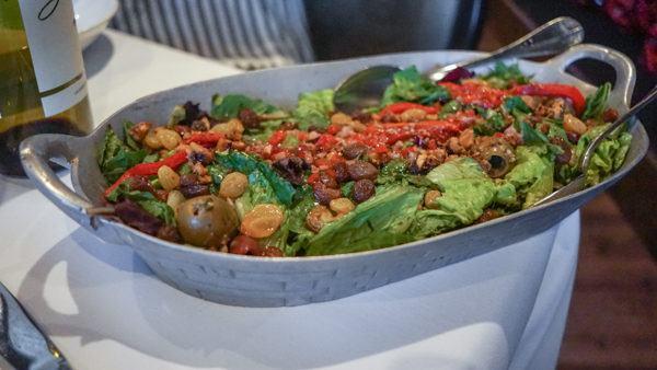 Salad at Alla Famiglia