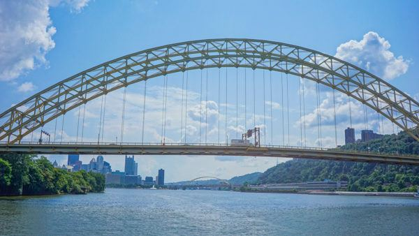 Pittsburgh from the Rivers of Steel Riverboat Tour