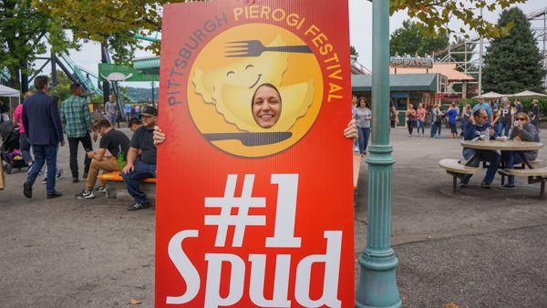 Angie is the #1 Spud of Pierogi Fest