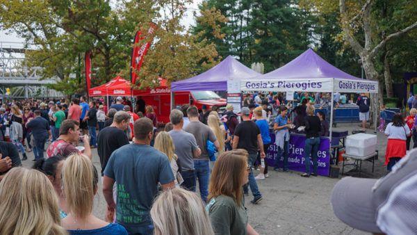 Lines at Pittsburgh Pierogi Fest