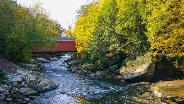 McConnells Mill State Park in the Fall