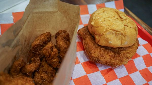 Hot fried chicken in East Liberty