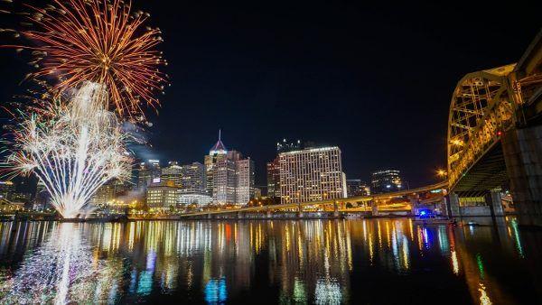 Fireworks on Light Up Night
