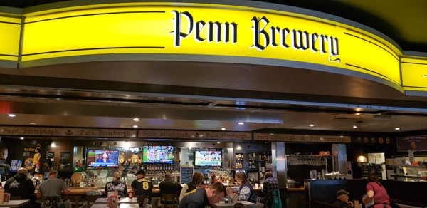 Penn Brewery at the Airport