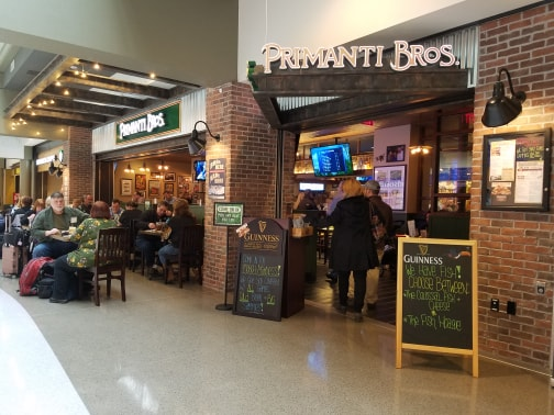 Primanti Brothers at Pittsburgh Airport