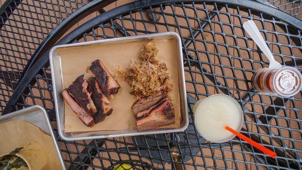 Barbecue Tray at Spork Pitt