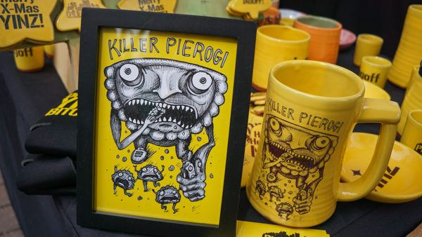 Pierogi Gear at Pittsburgh Pierogi Fest