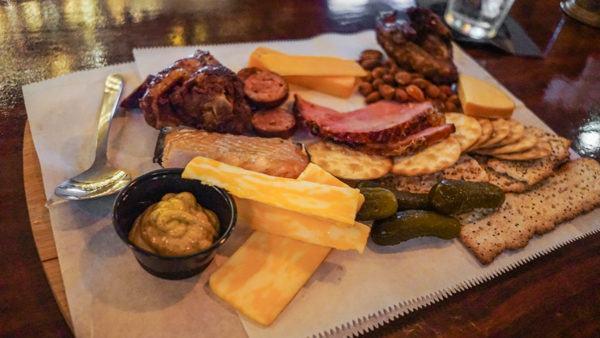 J Gough's meat platter