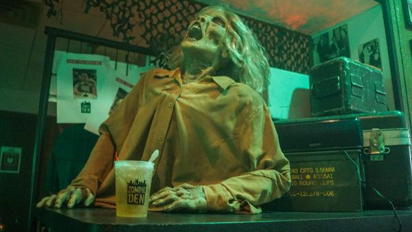 Zombies do make for good bartenders though.