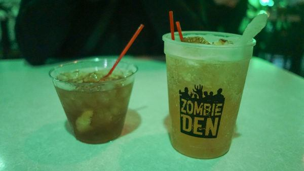 Zombie Den Cocktails in Pittsburgh