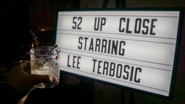 Grab a drink at the 52 Up Close bar