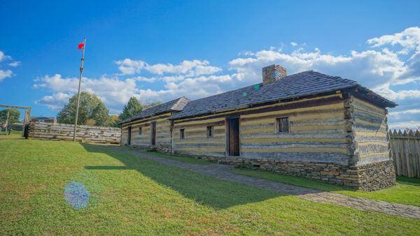 Fort Ligonier in the Laurel Highlands
