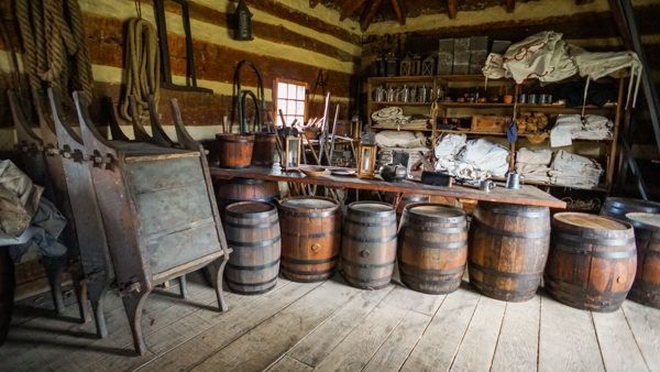 Fort Ligonier in the Laurel Highlands