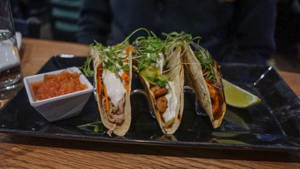 Tacos at Coughlin's Law in Mount Washington