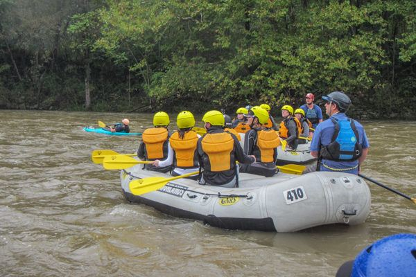 Ohiopyle White Water Rafting in the Laurel Highlands