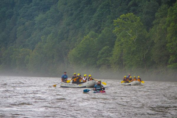 Rafting in Southwest Pennsylvania