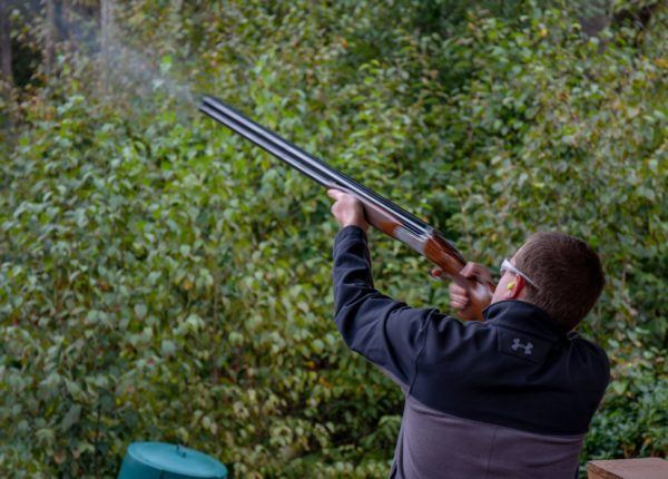 Trying my hand at sporting clays in the Laurel Highlands