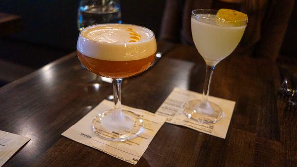 Cocktails at Siempre Algo