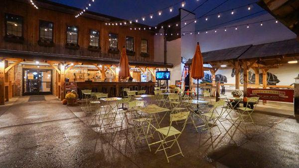 The Pennsylvania Market's Courtyard