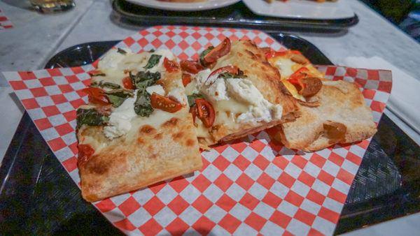 Roman Style Pizza at Romulus